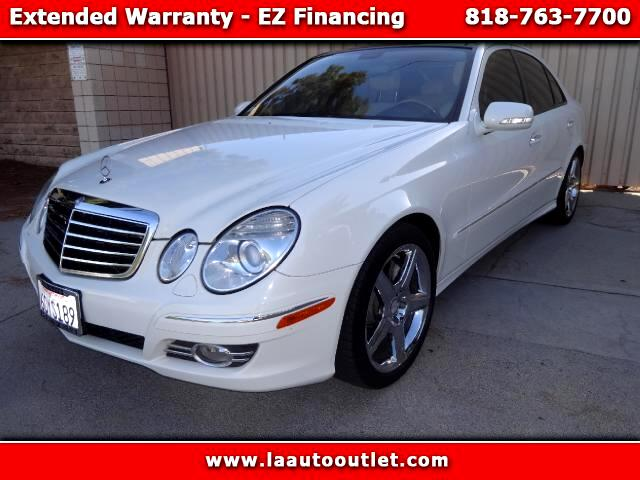 2008 Mercedes E-Class 2008 MBZ E550 PACKAGE 1 IS CAR FAX CERTIFIED SUPER CLEAN CAR AUTOMATIC HAS 89