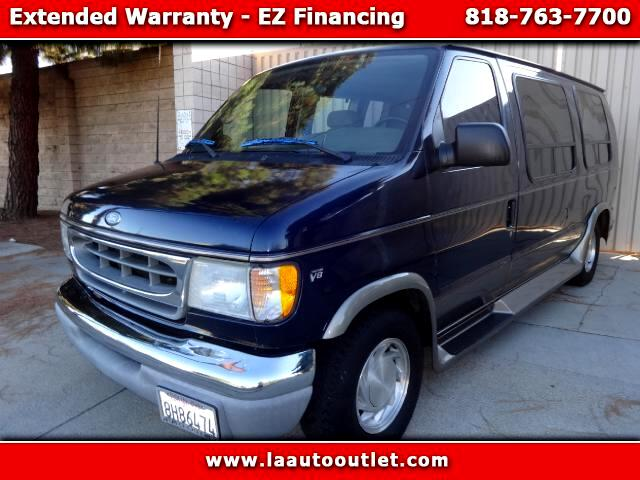 2001 Ford Econoline 2001 FORD E150 VANS ECONOLINE XLT IS AUTO CHECK CERTIFIED SUPER CLEAN VAN BLUE