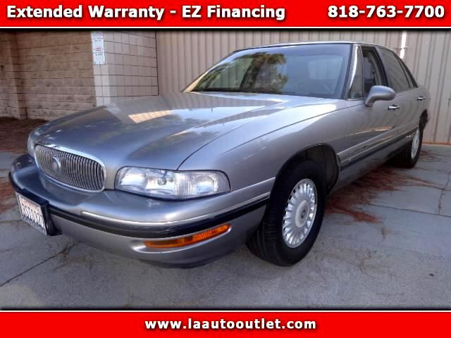 1997 Buick LeSabre 1997 BUICK LESABRE CUSTOM US AUTO CHECK CERTIFIED SUPER CLEAN CAR PEWTER WITH GR
