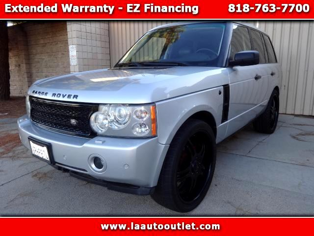 2006 Land Rover Range Rover 2006 LAND ROVER RANGE ROVER HSE IS AUTO CHECK CERTIFIED SUPER CLEAN SUV