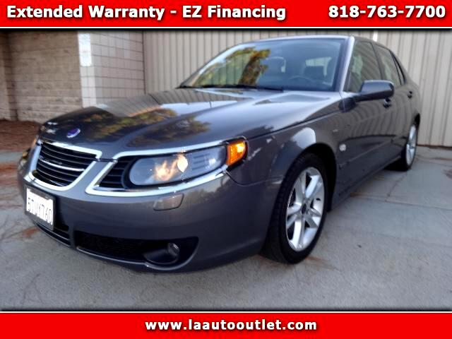 2006 Saab 9-5 2006 SAAB 9-5 23T IS SUPER CLEAN CAR GRAY WITH CHARCOAL LEATHER INTERIOR AC CD ALLO