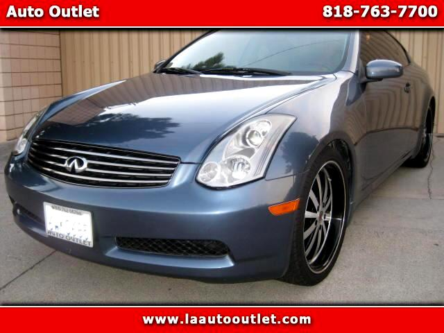 2007 Infiniti G35 2007 INFINITI G35 COUPE IS CARFAX CERTIFIED SUPER CLEAN CAR AUTOMATIC HAS 69643 M