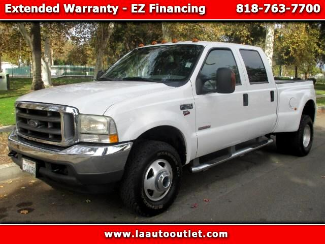 2004 Ford F-350 SD XLT Crew Cab Short Bed 4WD