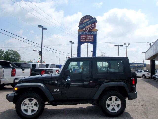 used 2009 jeep wrangler x for sale in oklahoma city ok 73008 legends auto sales. Black Bedroom Furniture Sets. Home Design Ideas
