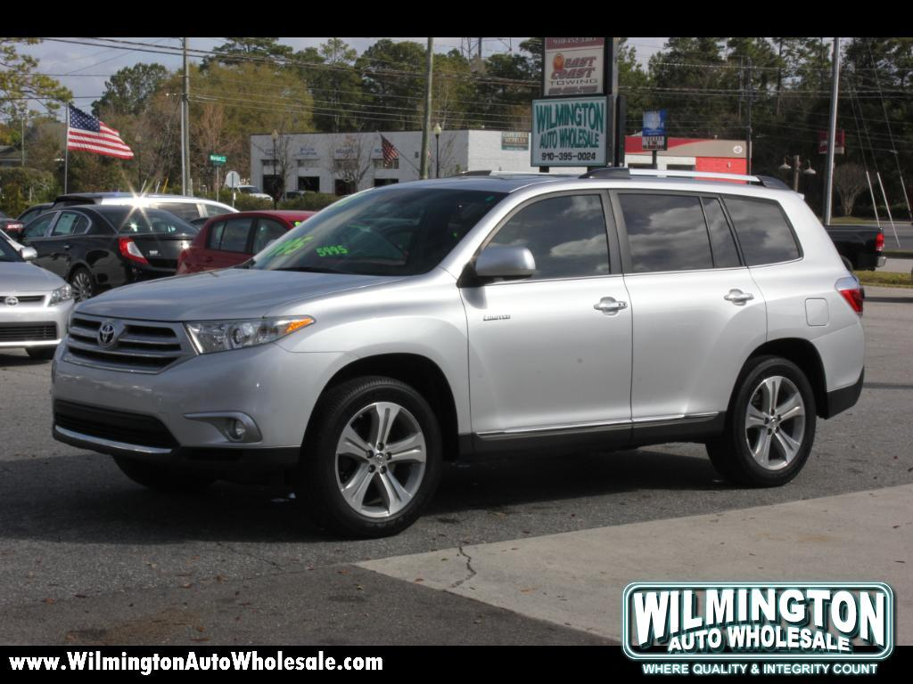 2012 Toyota Highlander Limited 2WD