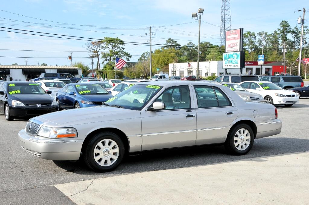 used 2005 mercury grand marquis for sale in wilmington nc. Black Bedroom Furniture Sets. Home Design Ideas