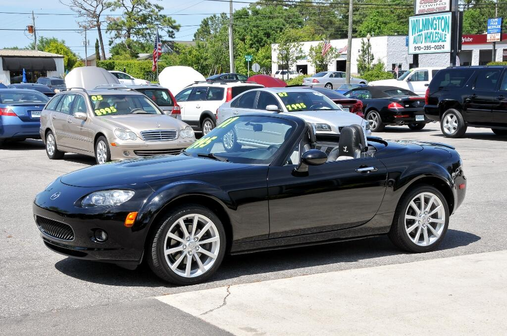 used 2007 mazda mx 5 miata for sale in wilmington nc 28405 wilmington auto wholesale. Black Bedroom Furniture Sets. Home Design Ideas