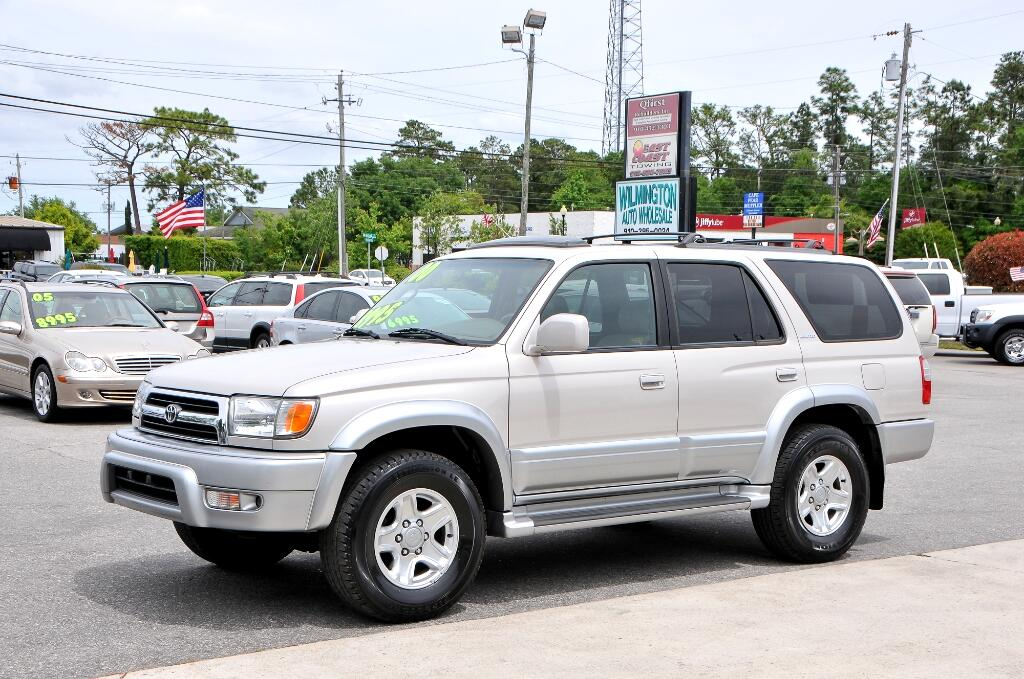 used 2000 toyota 4runner for sale in wilmington nc 28405 wilmington auto wholesale. Black Bedroom Furniture Sets. Home Design Ideas