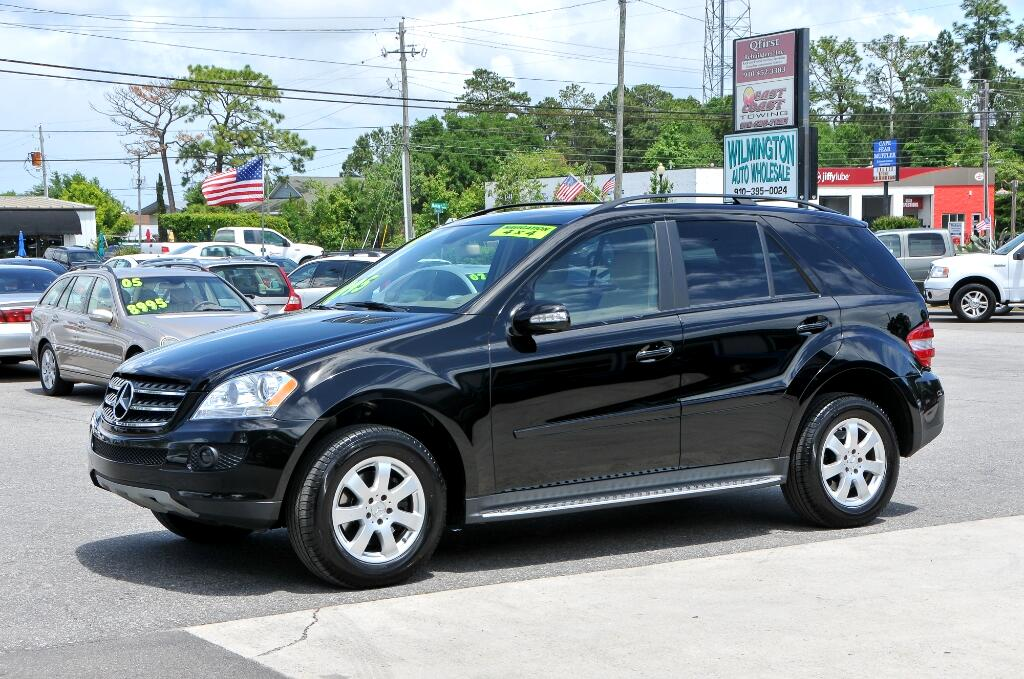 Used 2007 mercedes benz m class for sale in wilmington nc for 2007 mercedes benz ml350 for sale