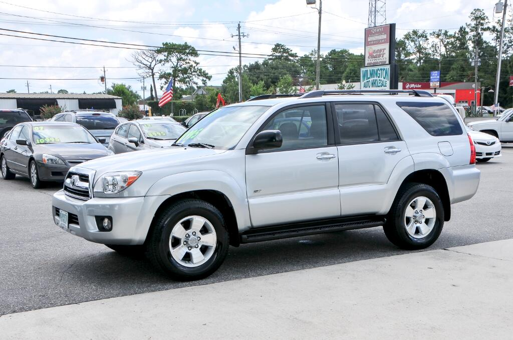 used 2007 toyota 4runner for sale in wilmington nc 28405 wilmington auto wholesale. Black Bedroom Furniture Sets. Home Design Ideas