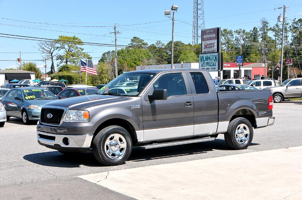 used 2007 ford f 150 lariat supercab 2wd for sale in wilmington nc 28405 wilmington auto wholesale. Black Bedroom Furniture Sets. Home Design Ideas