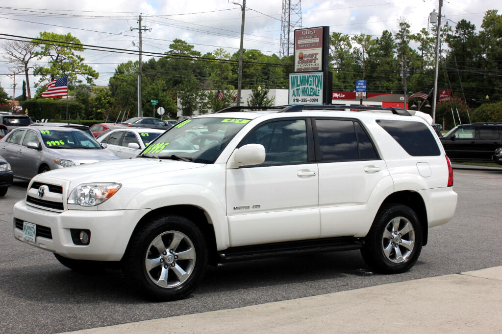 used 2008 toyota 4runner limited 4wd for sale in wilmington nc 28405 wilmington auto wholesale. Black Bedroom Furniture Sets. Home Design Ideas