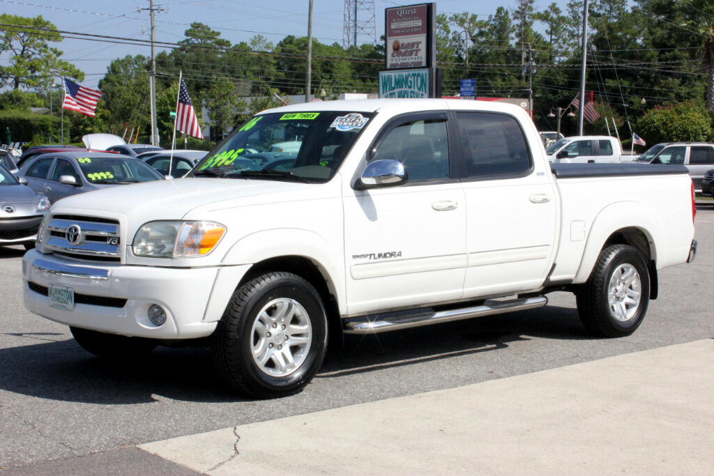 used 2006 toyota tundra sr5 double cab for sale in wilmington nc 28405 wilmington auto wholesale. Black Bedroom Furniture Sets. Home Design Ideas
