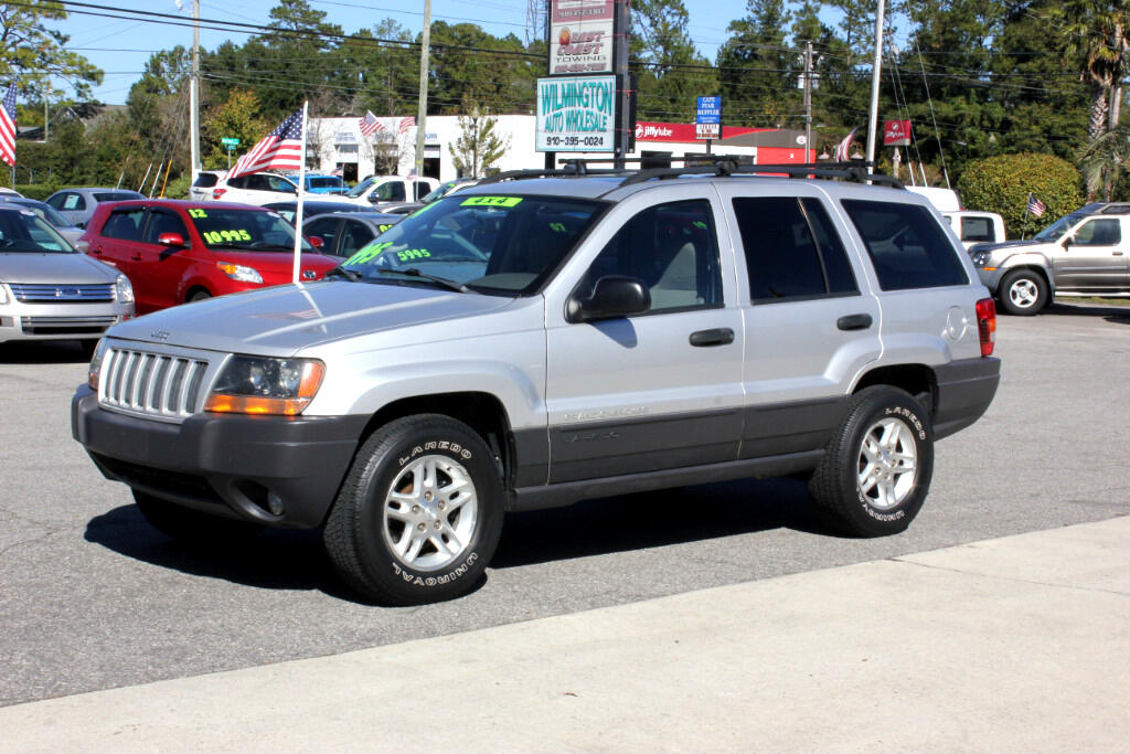 used 2004 jeep grand cherokee laredo special edition 4wd for sale in wilmington nc 28405. Black Bedroom Furniture Sets. Home Design Ideas