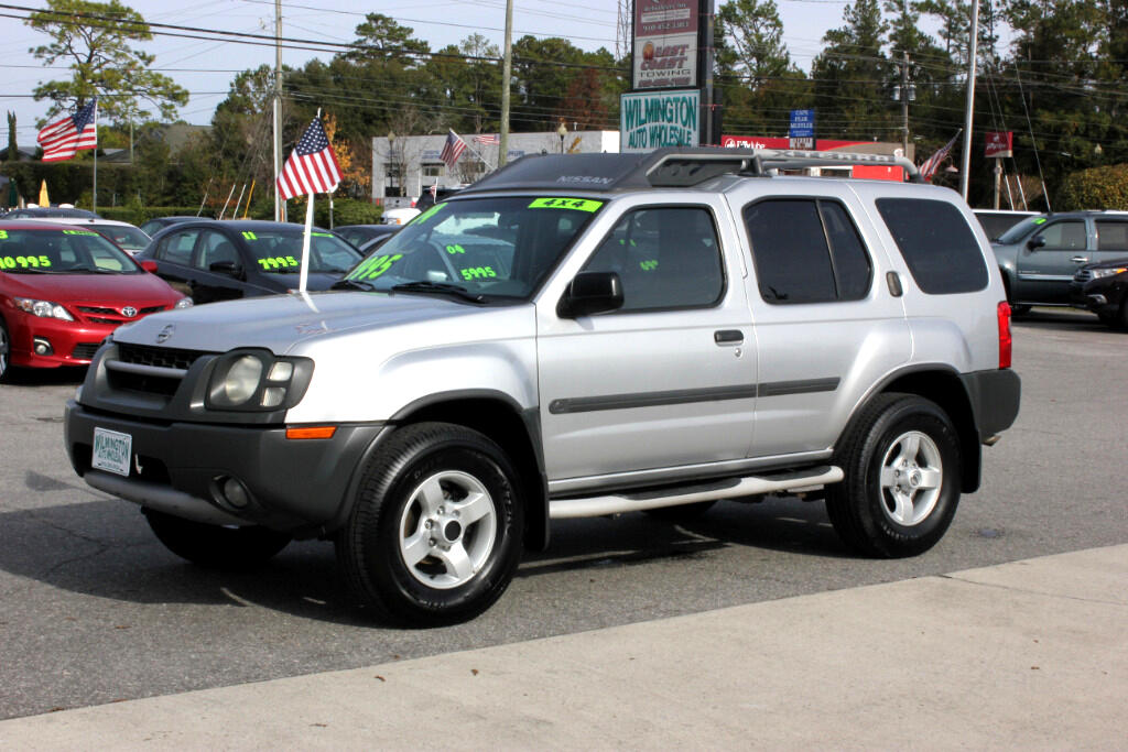 used 2004 nissan xterra xe 4wd for sale in wilmington nc. Black Bedroom Furniture Sets. Home Design Ideas