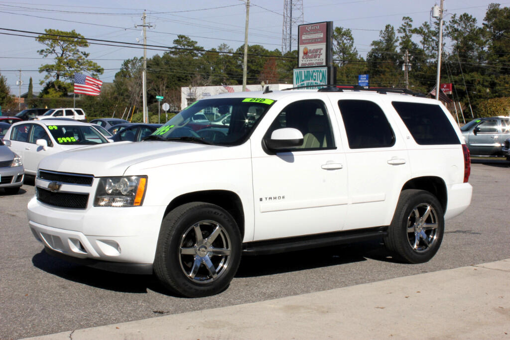 used 2007 chevrolet tahoe lt 2wd for sale in wilmington nc 28405 wilmington auto wholesale. Black Bedroom Furniture Sets. Home Design Ideas