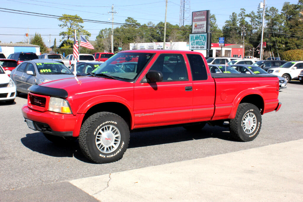 used 1998 gmc sonoma sls ext cab 4wd for sale in wilmington nc 28405 wilmington auto wholesale. Black Bedroom Furniture Sets. Home Design Ideas