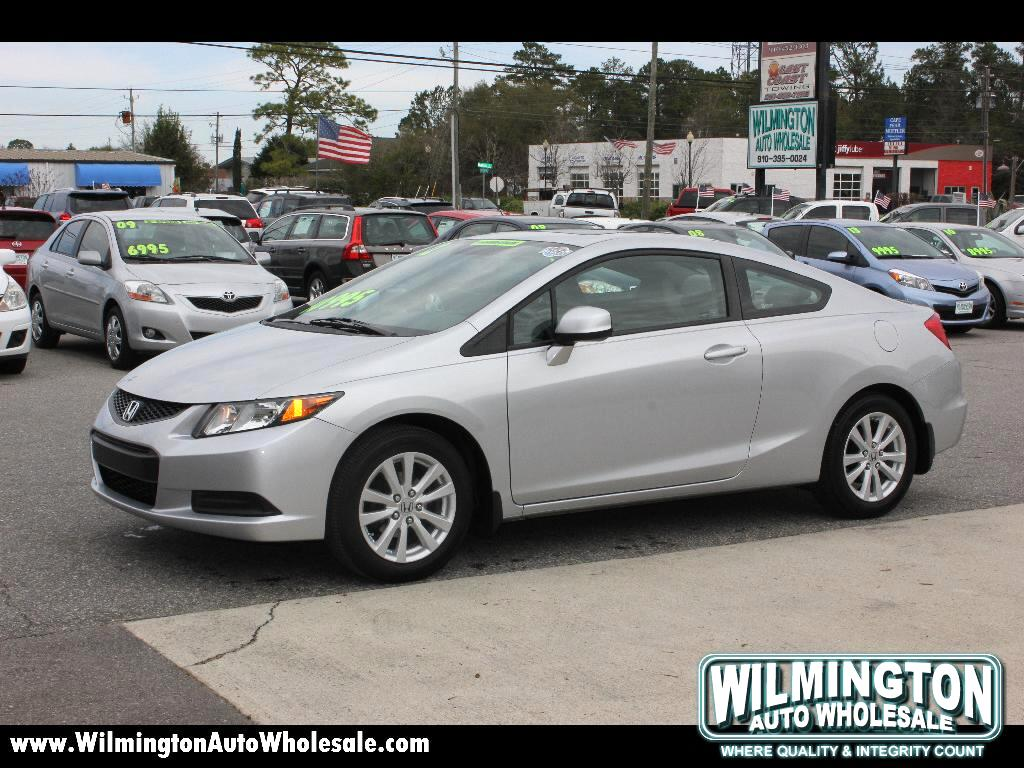 used 2012 honda civic ex l coupe 5 spd at for sale in. Black Bedroom Furniture Sets. Home Design Ideas