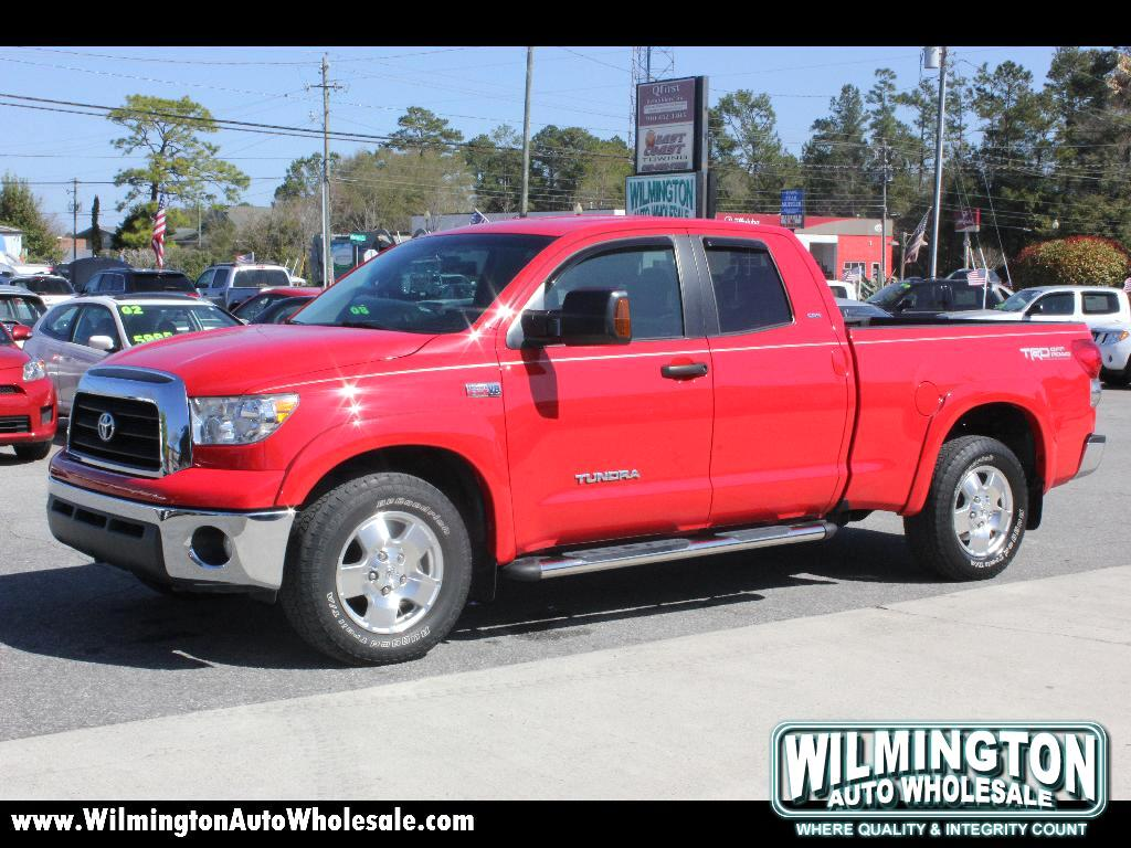 Wilmington Auto Wholesale >> Used 2008 Toyota Tundra SR5 Double Cab 5.7L 2WD for Sale in Wilmington NC 28405 Wilmington Auto ...