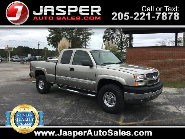 2003 Chevrolet Silverado 2500HD Ext. Cab Short Bed 4WD