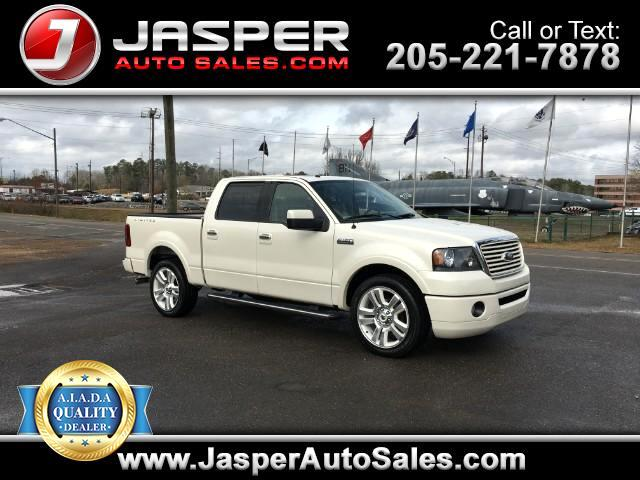 2008 Ford F-150 Lariat Limited SuperCrew 5.5-ft. Bed 2WD