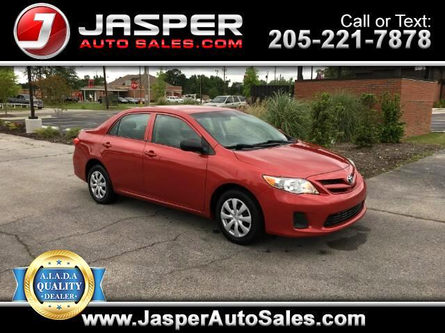 2012 Toyota Corolla Base 4-Speed AT