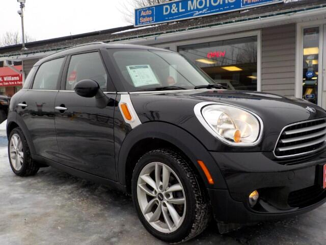 2011 MINI Countryman Manual