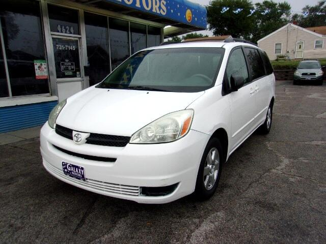 Used 2005 Toyota Sienna Le 7 Passenger Seating For Sale