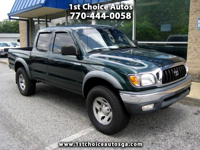 used 2002 toyota tacoma prerunner double cab v6 2wd for sale in smyrna ga 30080 1st choice autos. Black Bedroom Furniture Sets. Home Design Ideas