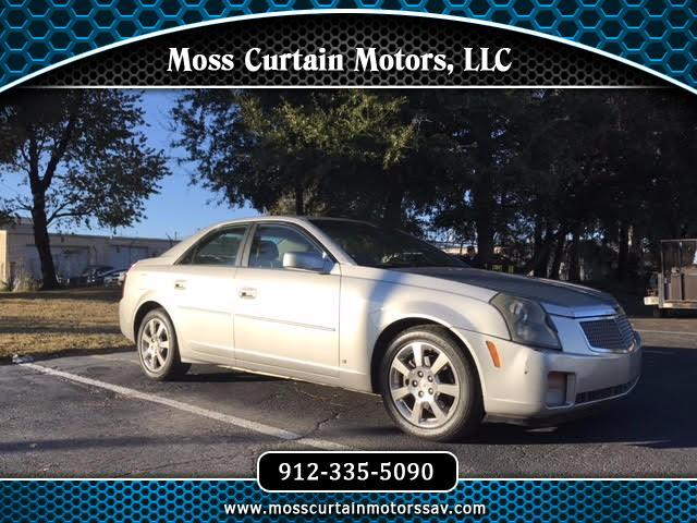2007 Cadillac Cts For In Savannah Ga 31406 Moss Curtain