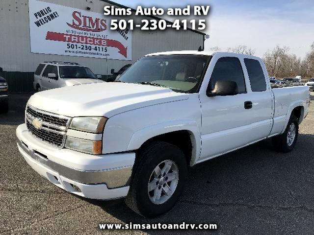 2006 Chevrolet Silverado 1500 LT Ext Cab 4x4 SWB 4WD 5.3 Leather