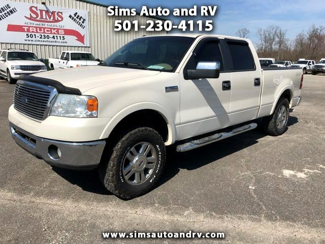 2007 Ford F-150 Lariat Supercrew 4x4 6.5 Ft.Bed F150 Crew 4wd