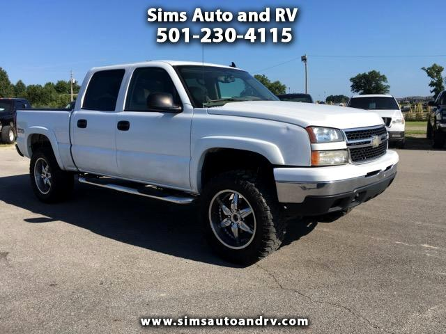 2006 Chevrolet Silverado 1500 Z71 Crew Cab 4x4 LT Lifted Leather Sunroof 4WD