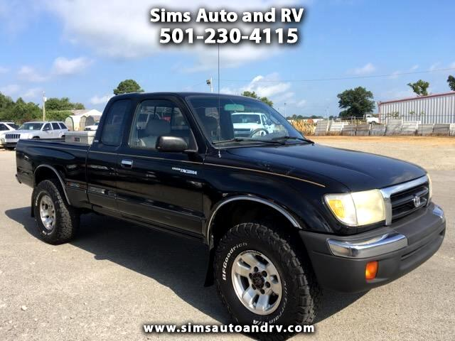 used 1998 toyota tacoma sr5 xtracab 4wd for sale in searcy. Black Bedroom Furniture Sets. Home Design Ideas