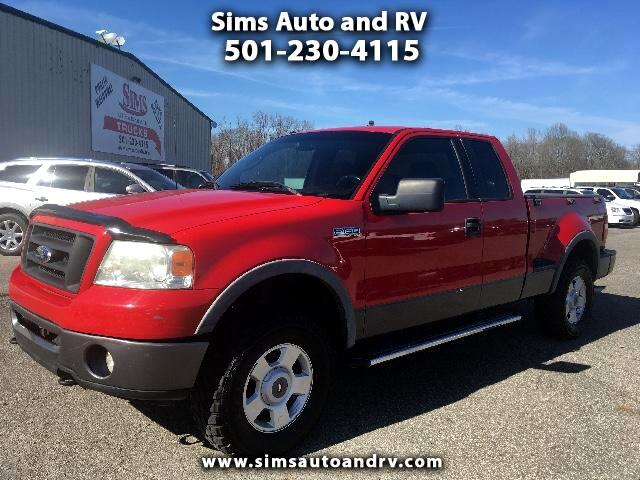 2006 Ford F-150 FX4 Supercab 4wd Flareside SWB Leather 4x4