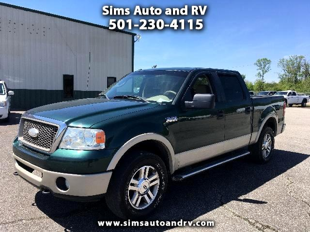 2007 Ford F-150 Lariat Supercrew 4WD SWB Crew 4x4 Leather