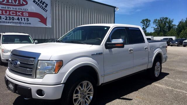 2010 Ford F-150 4WD Platinum Supercrew All Options Crew 4x4