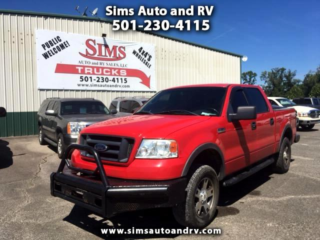 2004 Ford F-150 FX4 Supercrew 4WD SWB Leather 4x4 F150