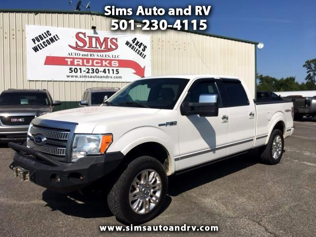 2012 Ford F-150 Platinum 4WD Supercrew 6.5' Bed 6.2L 4x4 F150 All