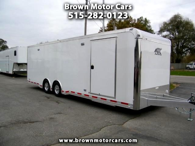 2018 ATC Quest 28ft Aluminum Enclosed w/305 Car Hauler Pkg and Pr