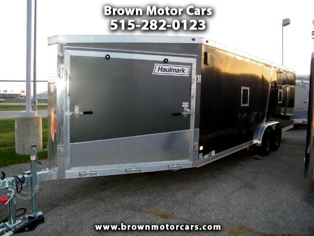 2018 Haulmark Enclosed Trailer HAS 7.5x22+6 Aluminum Enclosed Snowmobile Trailer
