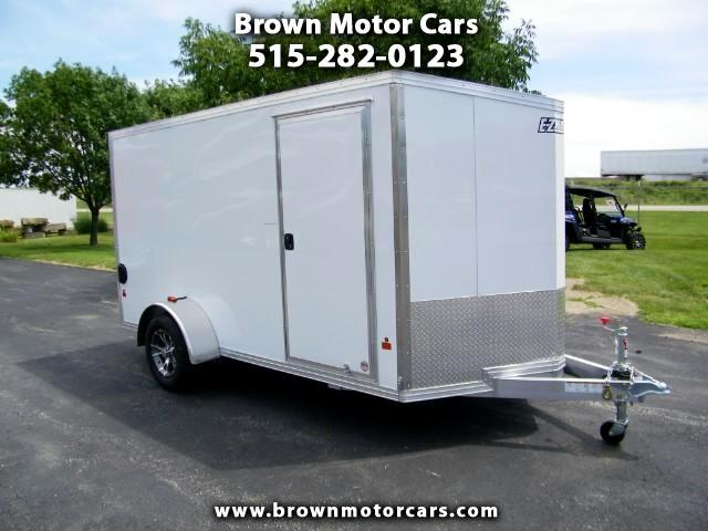 2016 E-Z Hauler Standard Cargo 6x12 V-Nose Aluminum Enclosed Trailer