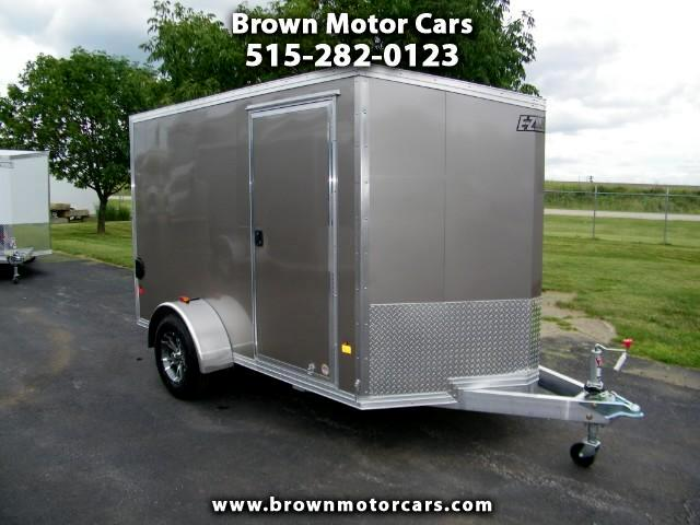 2016 E-Z Hauler Duralite 6x10 V-Nose Aluminum Enclosed Trailer