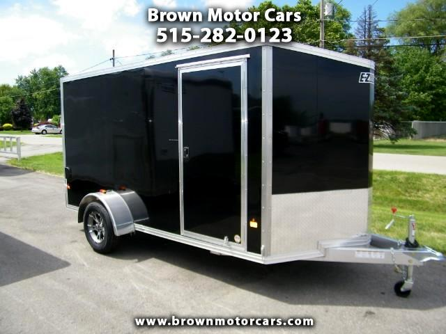 2016 E-Z Hauler Duralite 6x12 V-Nose Aluminum Enclosed Trailer