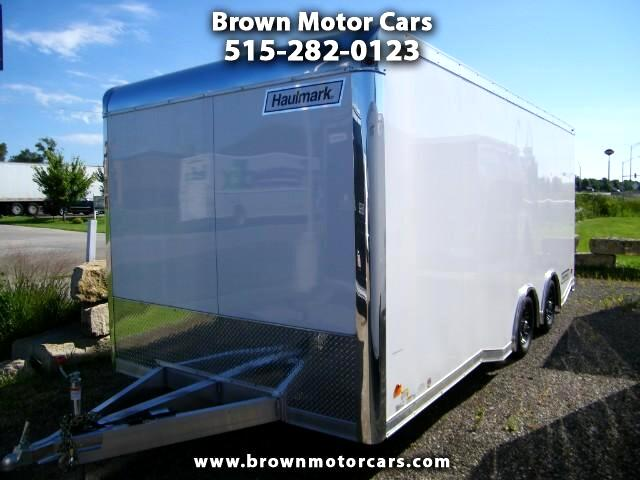 2017 Haulmark Enclosed Trailer HAR 85x20 Aluminum Enclosed Trailer Car Trailer