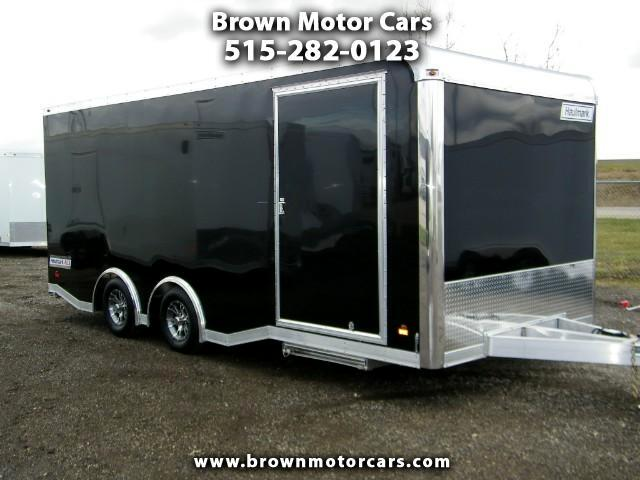 2017 Haulmark Enclosed Trailer HAR 85x20 Aluminum Enclosed Trailer