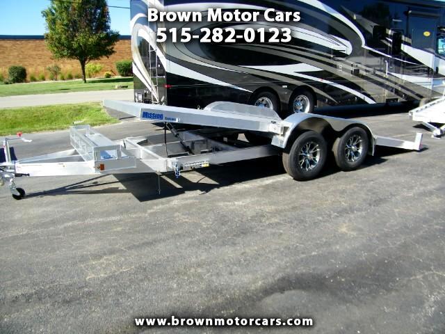 2016 Mission MOCH 8X20TILT Aluminum Open Car Hauler