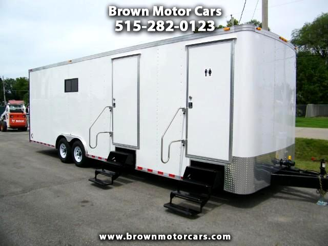 2017 Haulmark Enclosed Trailer 28FT Job Site Trailer Mobile Office