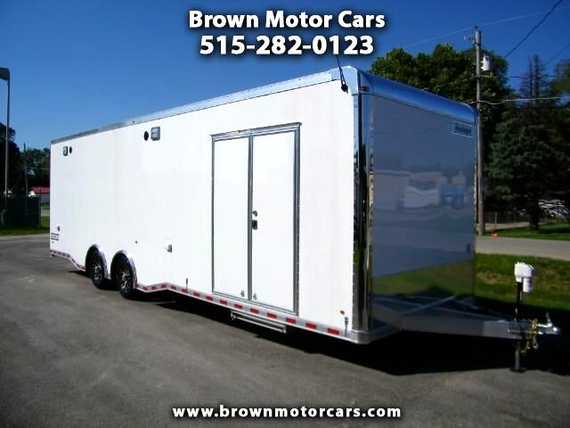 2017 Haulmark Enclosed Trailer HAR 85x30 Aluminum Car Hauler Extra Height