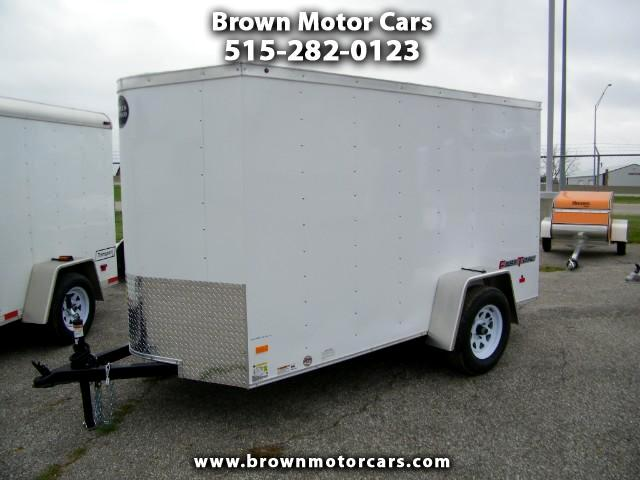 2017 Wells Cargo Fast Trac 5x10 V-Nose Enclosed Trailer